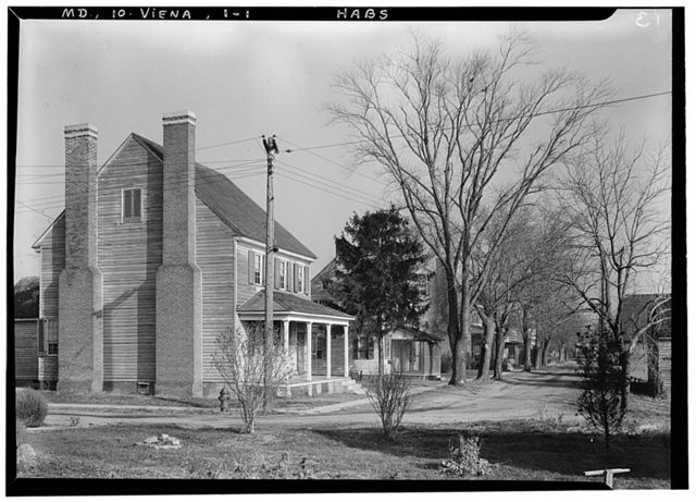Nanticoke River (Frame House), Vienna, Dorchester County, MD