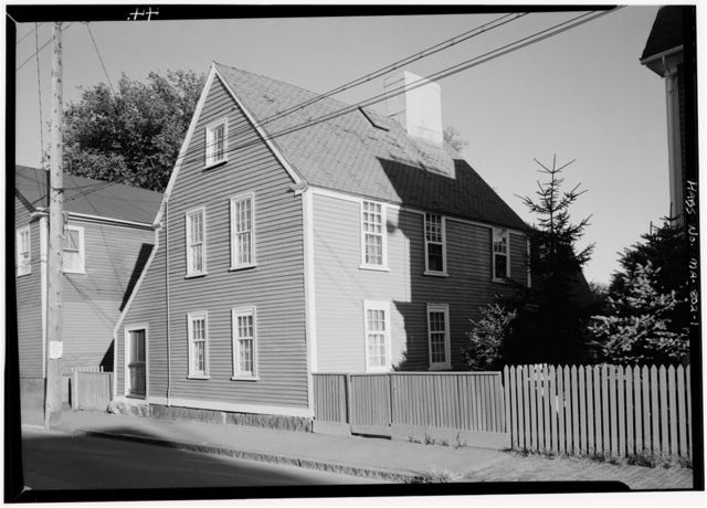 Narbonne House, 71 Essex Street, Salem, Essex County, MA