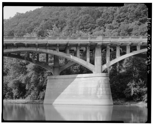 Narrows Bridge, Spanning Raystown Branch of Juniata River at Lincoln Hwighway (U.S. Route 30), Bedford, Bedford County, PA