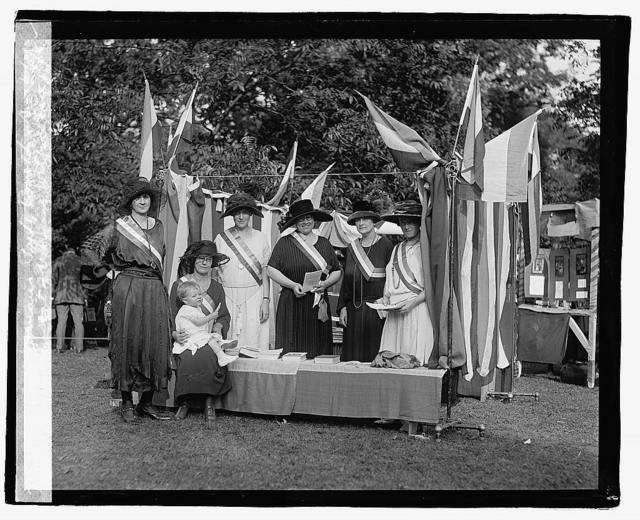 Nat. Woman's Party booth at Carnival of Woman's Welfare Ass., 10/5/22