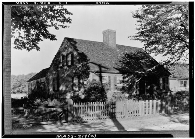 Nathan Sawyer Cottage, 306 Riverside Avenue, Medford, Middlesex County, MA
