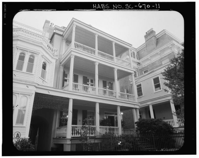 Nathaniel Russell Middleton House, 22 South Battery Street, Charleston, Charleston County, SC