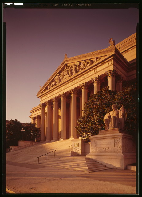 National Archives, Constitution Avenue, between Seventh & Ninth Streets Northwest, Washington, District of Columbia, DC