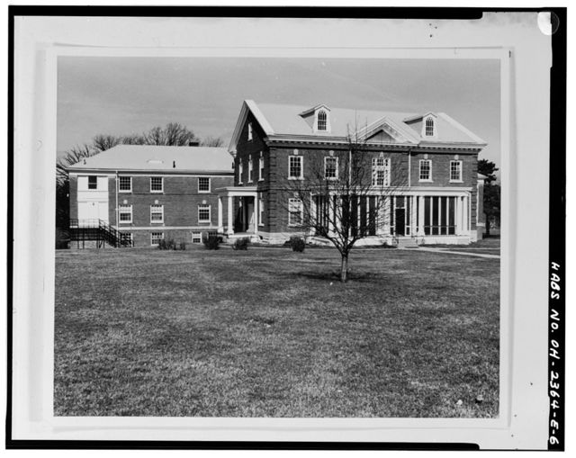 National Home for Disabled Volunteer Soldiers, Central Branch, Personnel Quarters, 4100 West Third Street, Dayton, Montgomery County, OH