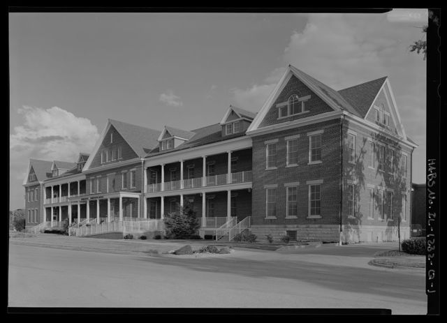 National Home for Disabled Volunteer Soldiers, Danville Branch, Domiciliary, 1900 and 2000 East Main Street , Danville, Vermilion County, IL