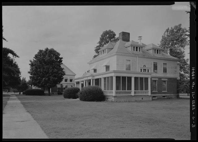 National Home for Disabled Volunteer Soldiers, Danville Branch, Residence, 1900 and 2000 East Main Street , Danville, Vermilion County, IL