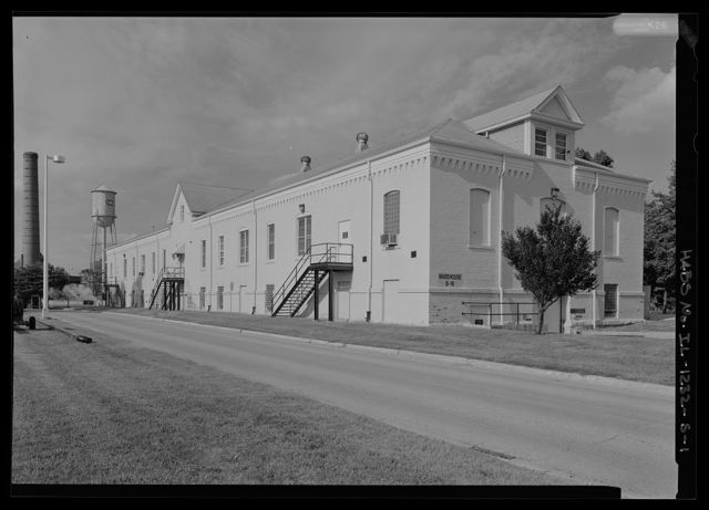 National Home for Disabled Volunteer Soldiers, Danville Branch, Warehouse, 1900 and 2000 East Main Street , Danville, Vermilion County, IL
