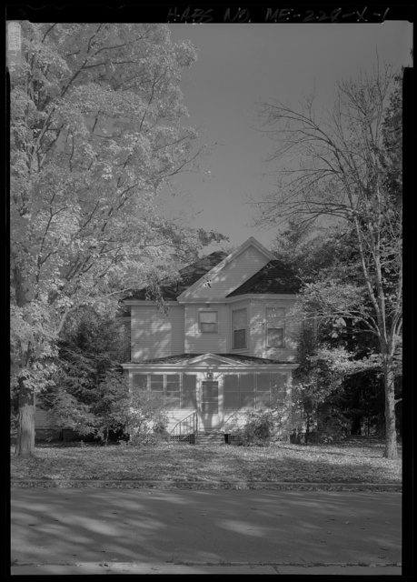 National Home for Disabled Volunteer Soldiers, Eastern Branch, Duplex Quarters, 1 VA Center, Augusta, Kennebec County, ME