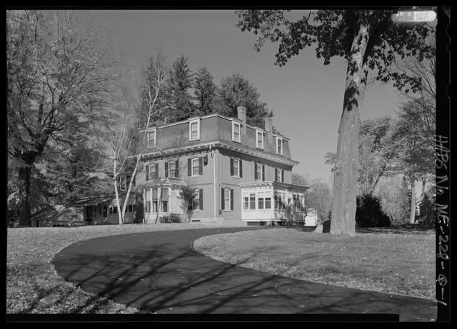 National Home for Disabled Volunteer Soldiers, Eastern Branch, Governor's Quarters, 1 VA Center, Augusta, Kennebec County, ME