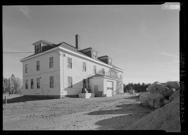 National Home for Disabled Volunteer Soldiers, Eastern Branch, Grounds Unit, 1 VA Center, Augusta, Kennebec County, ME