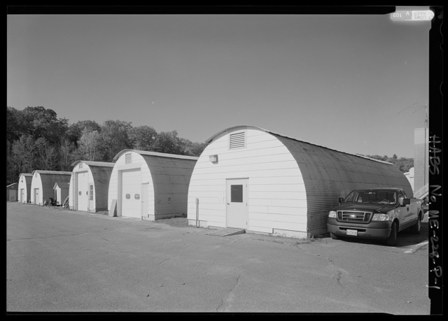 National Home for Disabled Volunteer Soldiers, Eastern Branch, Storage Units, 1 VA Center, Augusta, Kennebec County, ME