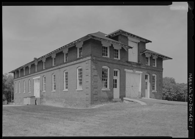 National Home for Disabled Volunteer Soldiers, Marion Branch, Building No. 69, 1700 East 38th Street, Marion, Grant County, IN