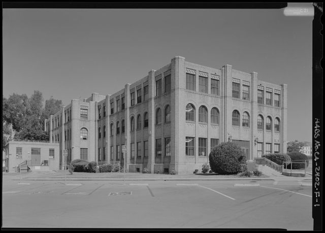 National Home for Disabled Volunteer Soldiers, Pacific Branch, Administration Building, 11301 Wilshire Boulevard, West Los Angeles, Los Angeles County, CA