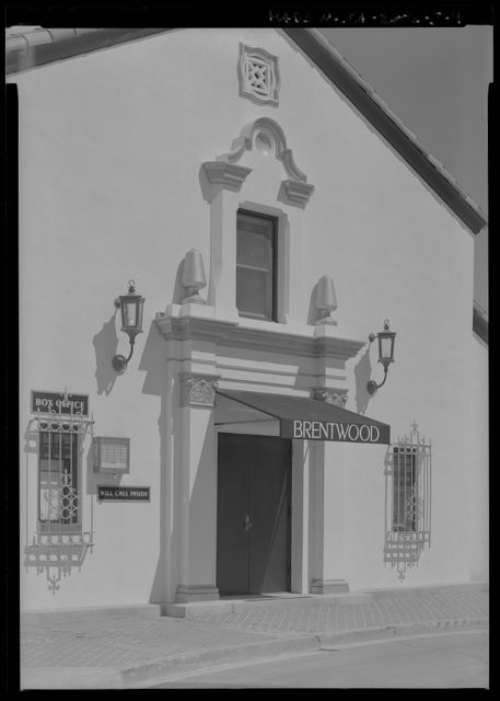 National Home for Disabled Volunteer Soldiers, Pacific Branch, Brentwood Theater, 11301 Wilshire Boulevard, West Los Angeles, Los Angeles County, CA