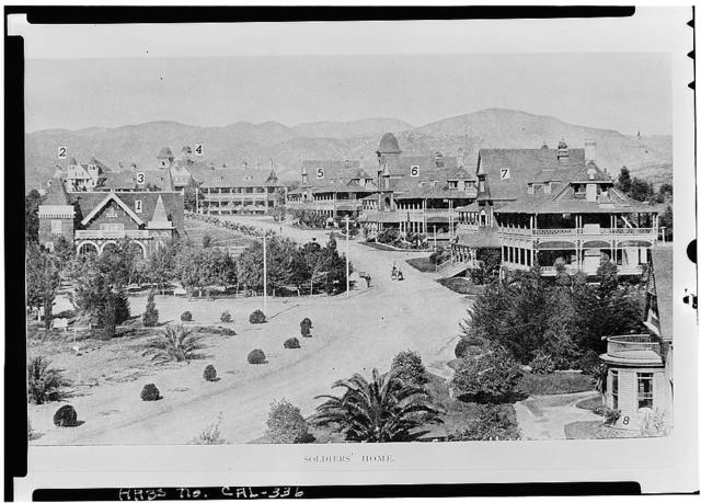 National Home for Disabled Volunteer Soldiers, Pacific Branch, Domiciliary No. 6, Wilshire & Sawtelle Boulevards, Los Angeles, Los Angeles County, CA