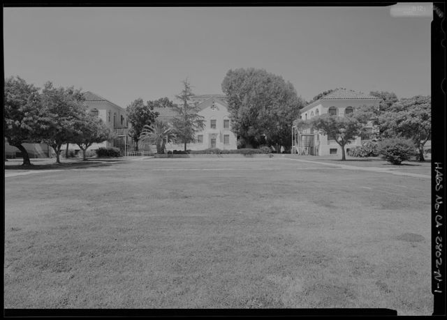National Home for Disabled Volunteer Soldiers, Pacific Branch, Mental Health, 11301 Wilshire Boulevard, West Los Angeles, Los Angeles County, CA