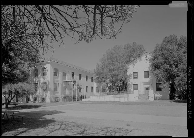 National Home for Disabled Volunteer Soldiers, Pacific Branch, Mental Health Building, 11301 Wilshire Boulevard, West Los Angeles, Los Angeles County, CA