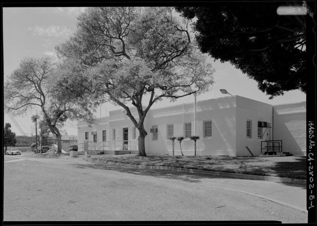 National Home for Disabled Volunteer Soldiers, Pacific Branch, Police Station, 11301 Wilshire Boulevard, West Los Angeles, Los Angeles County, CA