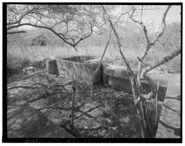 Naval Air Station Barbers Point, Anti-Aircraft Battery Complex-Large Gun Position, East of Coral Sea Road, northwest of Hamilton Road, Ewa, Honolulu County, HI