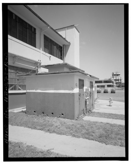 Naval Air Station Barbers Point, Ready Magazine-1943 Type, Adjacent to Hangars 110 & 111, on or near Midway Street, Ewa, Honolulu County, HI