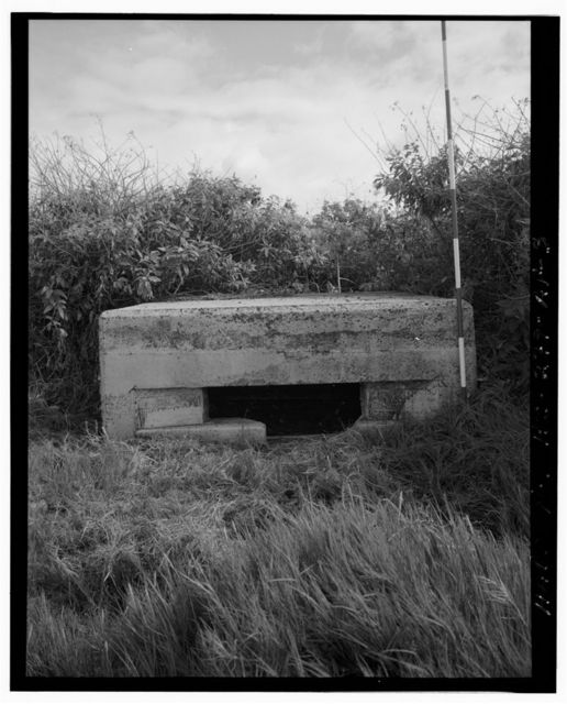 Naval Air Station Barbers Point, Shore Pillbox Complex-Type 2 Pillbox, Along shoreline, seaward of Coral Sea Road, Ewa, Honolulu County, HI
