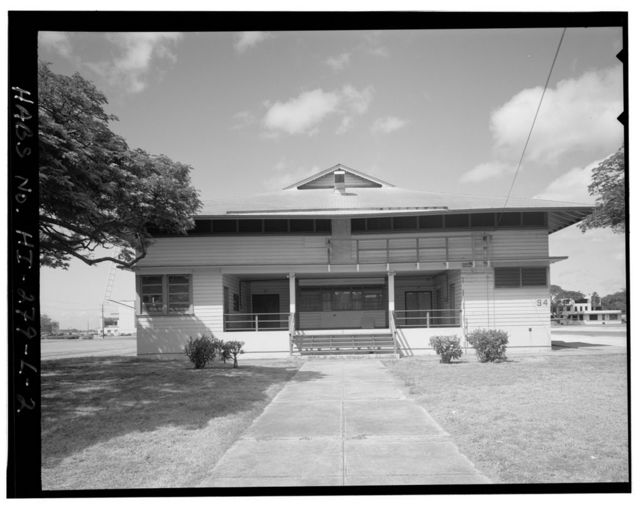 Naval Air Station Barbers Point, Theater, Yorktown Avenue between Wasp & Saipan Streets, Ewa, Honolulu County, HI