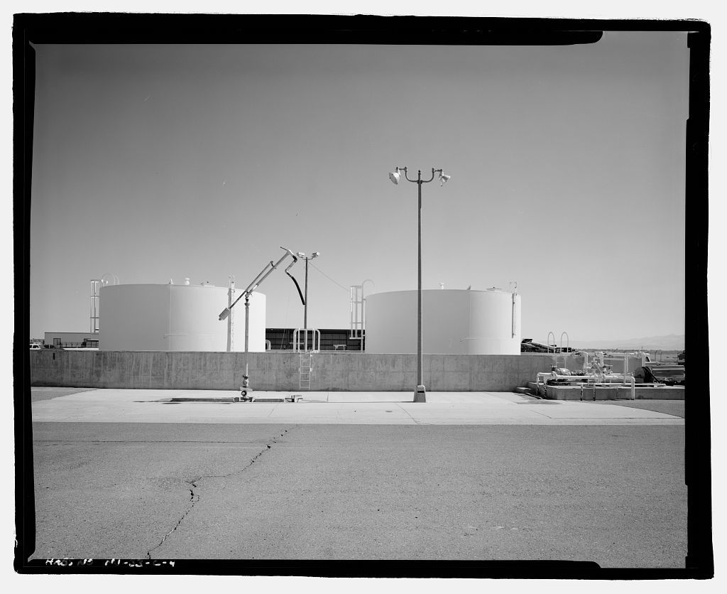 Naval Air Station Fallon, Fuel Tanks, 800 Complex, off Carson Road near intersection of Pasture & Berney Roads, Fallon, Churchill County, NV