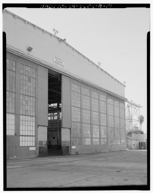 Naval Air Station North Island, Seaplane Hangars, Roe Street, North Island, San Diego, San Diego County, CA