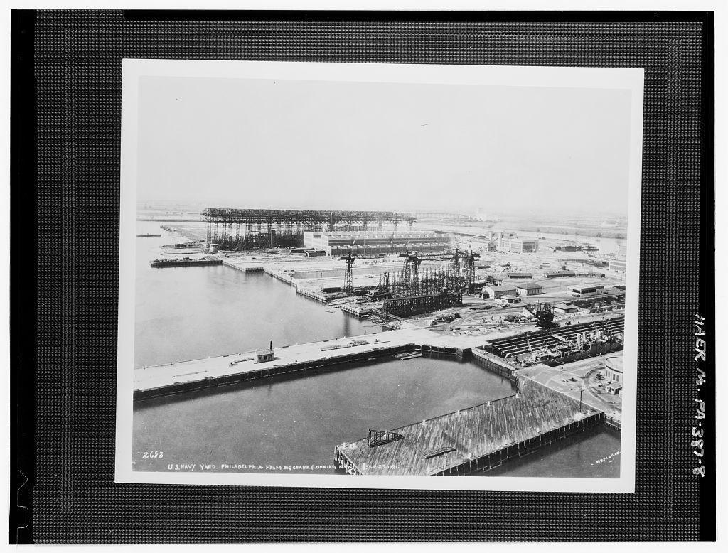 Naval Base Philadelphia-Philadelphia Naval Shipyard, League Island, Philadelphia, Philadelphia County, PA