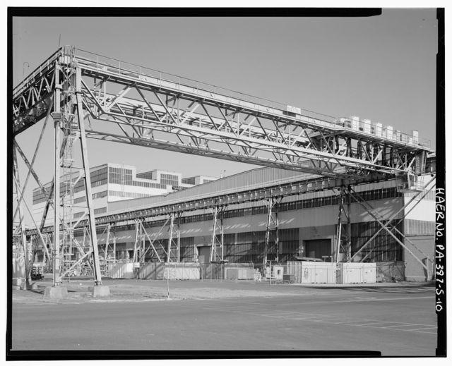 Naval Base Philadelphia-Philadelphia Naval Shipyard, Structural Assembly Shop, League Island, Philadelphia, Philadelphia County, PA