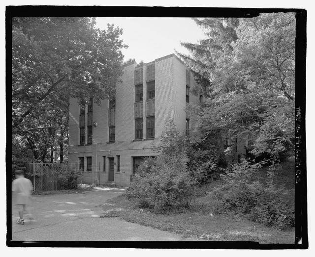 Naval Hospital, Officer's Quarters, Southeast of Main Building, Pattison Avenue between Broad & Twentieth Streets, Philadelphia, Philadelphia County, PA