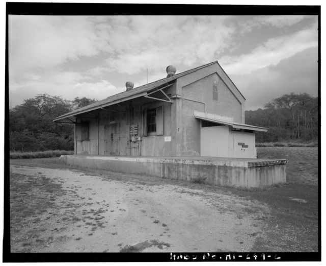 Naval Magazine Lualualei, Headquarters Branch, Ammo Rework-Overhaul Building, Seventeenth Street, Pearl City, Honolulu County, HI