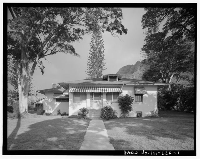 Naval Magazine Lualualei, Headquarters Branch, Warrant Officer's & Civilians Quarters Type, Along Sixty-sixth Street between Amberjack & Constitution Streets, Pearl City, Honolulu County, HI