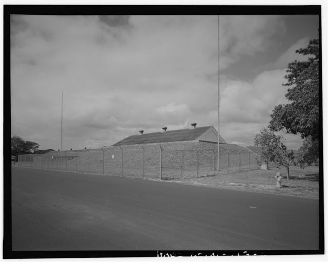 Naval Magazine Lualualei, West Loch Branch, Explosive & Small Train Depot, Main wharf area between wharves W2 & W3, north of First Street, Pearl City, Honolulu County, HI