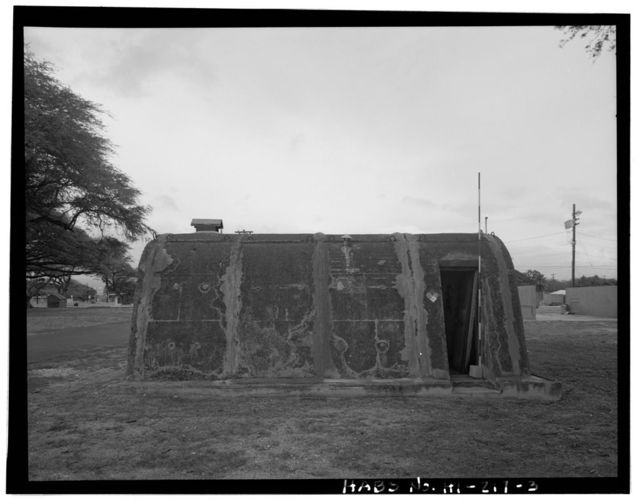 Naval Magazine Lualualei, West Loch Branch, Fallout Shelter Type, East of A Avenue near Second Street, Pearl City, Honolulu County, HI