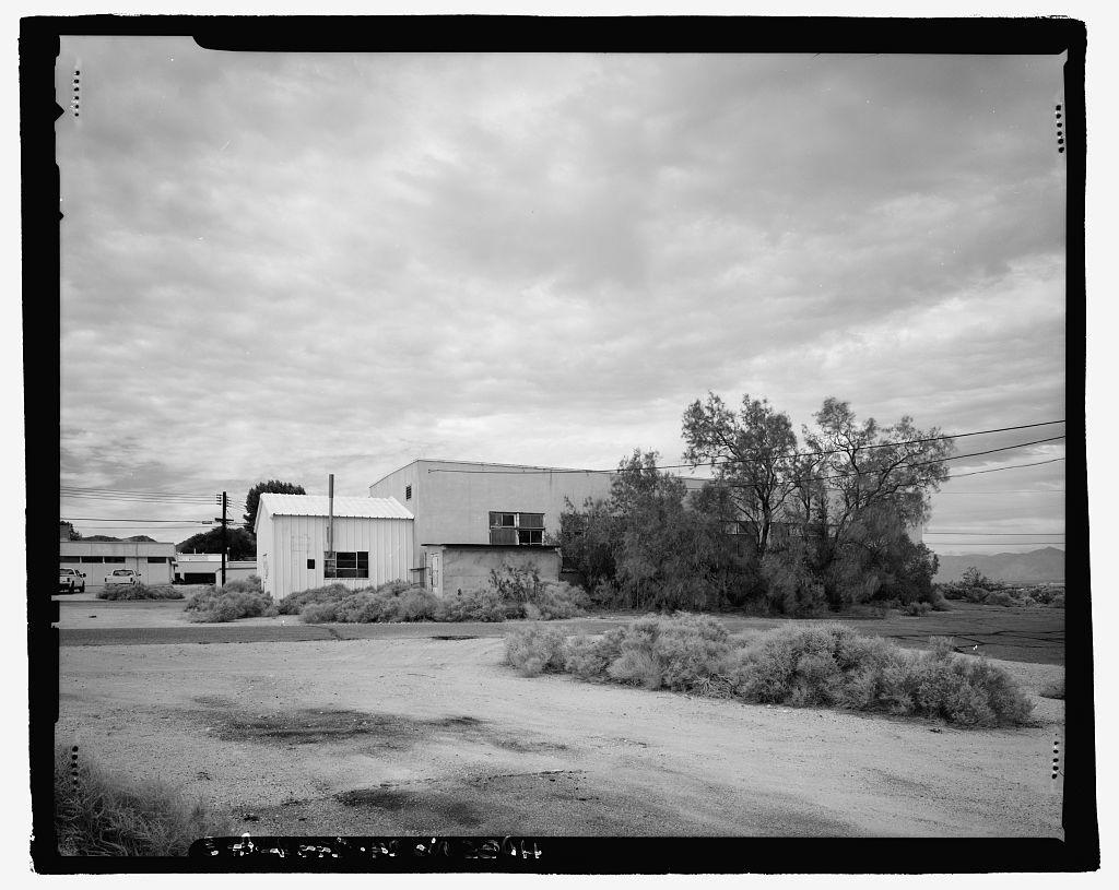 Naval Ordnance Test Station Inyokern, China Lake Pilot Plant, Machine Shop, C Street, China Lake, Kern County, CA