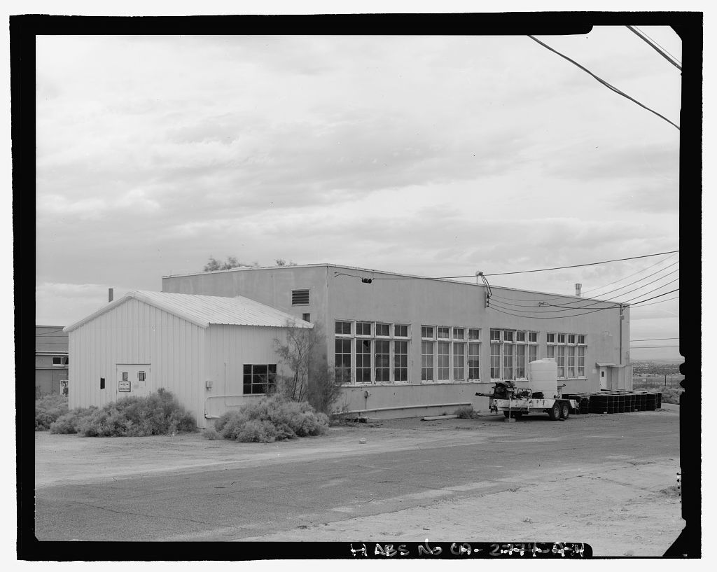 Naval Ordnance Test Station Inyokern, China Lake Pilot Plant, Machine Shop, C Street, China Lake, Kern County, CA