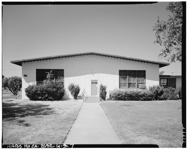 Naval Supply Annex Stockton, ASA Office, Fyffe Avenue between James & Boone Drives, Stockton, San Joaquin County, CA