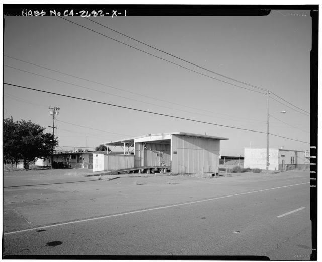 Naval Supply Annex Stockton, Motor Pool, Between Fyffe & Davis Avenues & Humphreys Drive, Stockton, San Joaquin County, CA