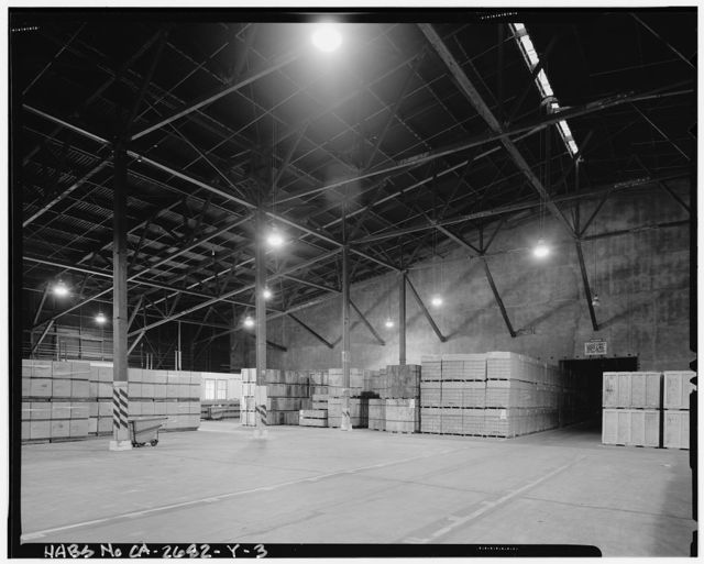 Naval Supply Annex Stockton, Wood-Frame Warehouse Type, Between McCloy & Pinter Avenues at north end of Humphreys Drive, Stockton, San Joaquin County, CA