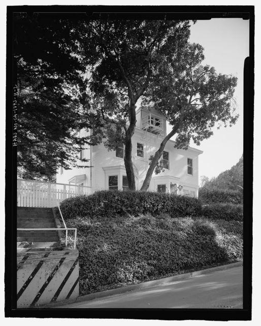 Naval Training Station, Senior Officers' Quarters District, Quarters No. 7, Naval Station Treasure Island, 7 Whiting Way, Yerba Buena Island, San Francisco, San Francisco County, CA
