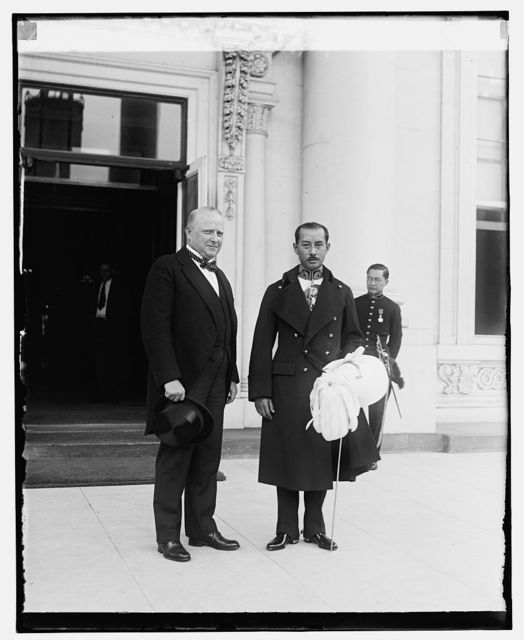 Nelson P. Johnson & Minister of Siam, 5/29/29
