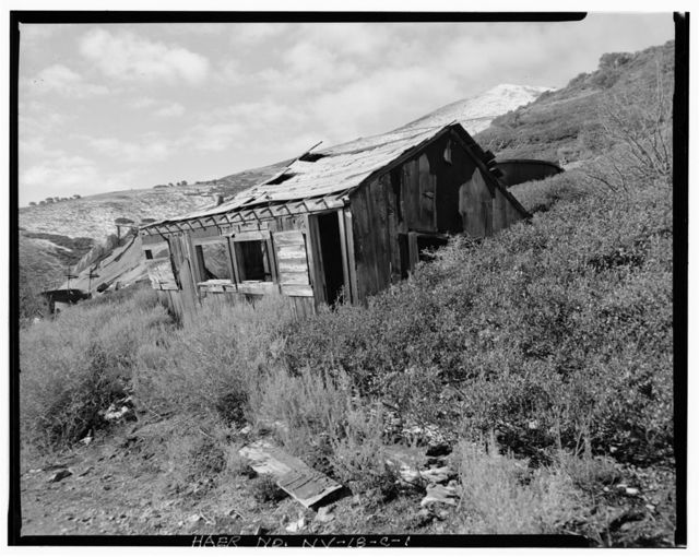 Nevada Lucky Tiger Mill & Mine, Assay Office, East slope of Buckskin Mountain, Paradise Valley, Humboldt County, NV