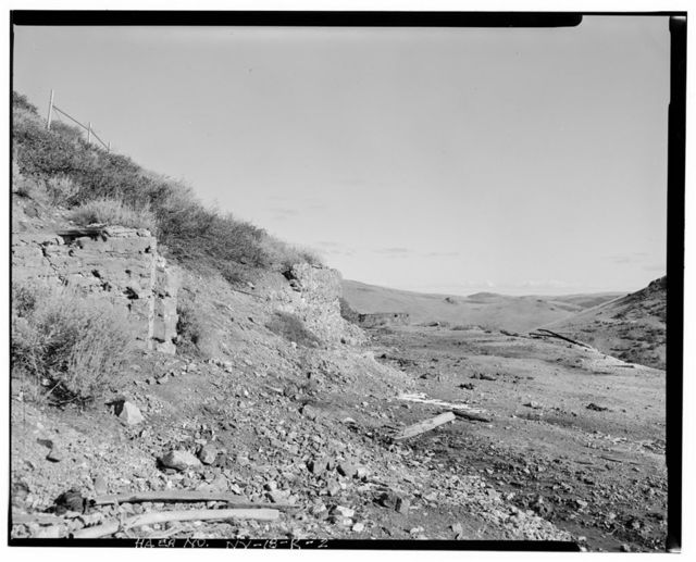 Nevada Lucky Tiger Mill & Mine, Hatch Adit, East slope of Buckskin Mountain, Paradise Valley, Humboldt County, NV