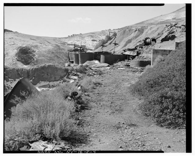 Nevada Lucky Tiger Mill & Mine, Mill, East slope of Buckskin Mountain, Paradise Valley, Humboldt County, NV