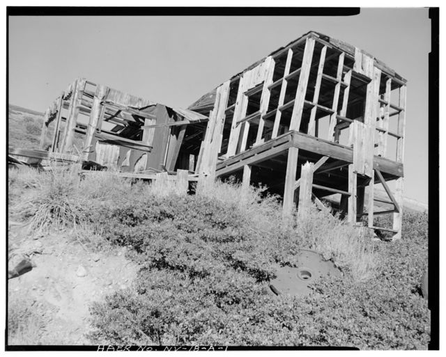 Nevada Lucky Tiger Mill & Mine, Office, East slope of Buckskin Mountain, Paradise Valley, Humboldt County, NV