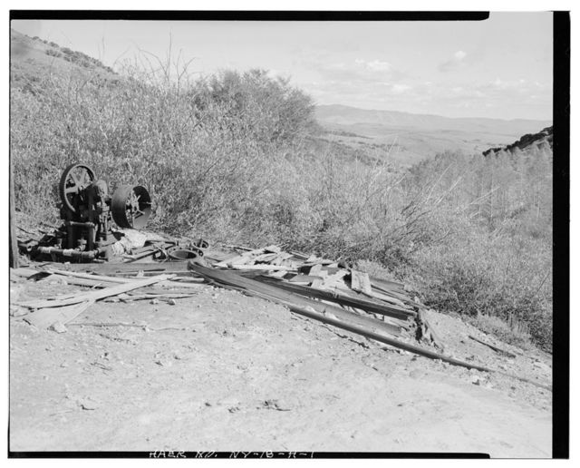 Nevada Lucky Tiger Mill & Mine, Water Pump, East slope of Buckskin Mountain, Paradise Valley, Humboldt County, NV