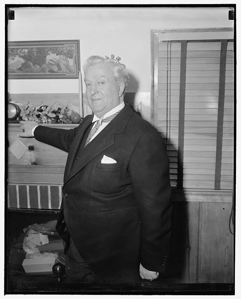 Nevada Senator. Washington, D.C., April 24. A new informal picture of Senator Pat McCarran, democrat of Nevada