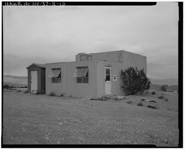 Nevada Test Site, Frenchman Flat Test Facility, Well Five Booster Stations, Intersection of 5-03 Road & Short Pole Line Road, Area 5, Frenchman Flat, Mercury, Nye County, NV