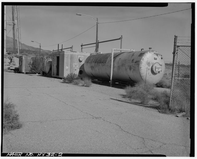 Nevada Test Site, Pluto Facility, Area 26, Wahmonie Flats, Cane Spring Road, Mercury, Nye County, NV